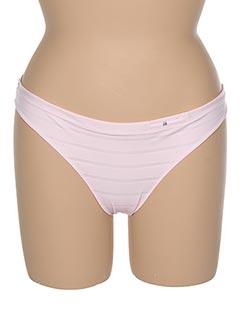 Slip/Culotte rose MARIE JO pour femme