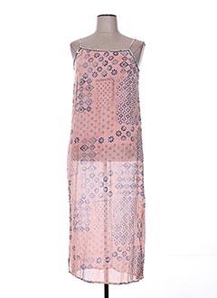Robe longue rose HAPPY FEW pour femme
