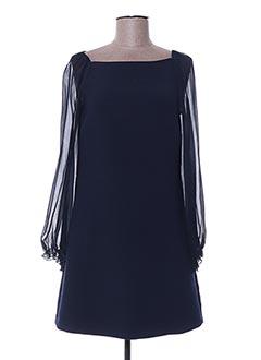 Robe courte bleu ERMANNO SCERVINO pour femme