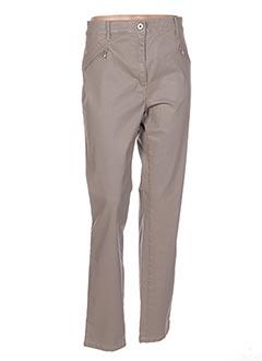 Pantalon casual beige BELLA pour femme