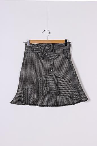 Jupe courte noir REIKO pour femme