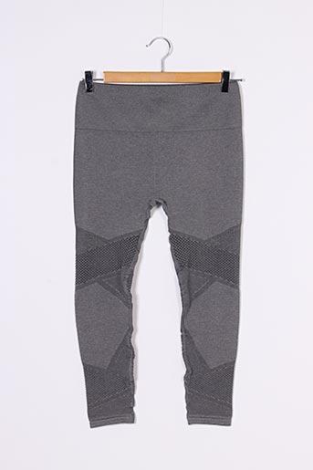Legging gris SANS MARQUE pour femme