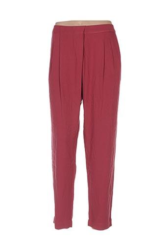 Pantalon 7/8 rose BENETTON pour femme