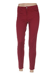 Pantalon 7/8 rouge BENETTON pour femme seconde vue