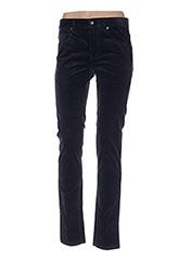 Pantalon casual bleu BENETTON pour femme seconde vue