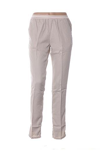 Pantalon 7/8 beige CHLOÉ STORA pour femme