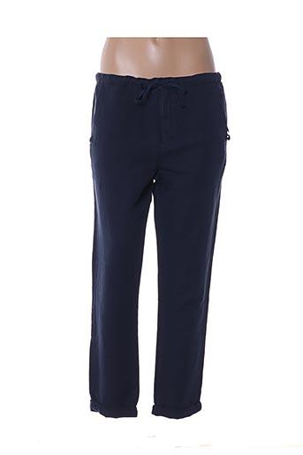 Pantalon 7/8 bleu CHLOÉ STORA pour femme