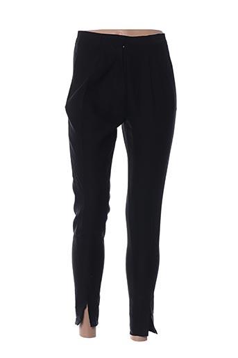 Pantalon 7/8 noir ATTIC AND BARN pour femme