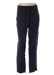 Pantalon 7/8 noir MY SUNDAY MORNING pour femme seconde vue