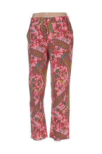 Pantalon casual rose BELLA JONES pour femme