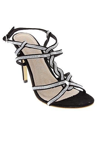 Sandales/Nu pieds gris ILARIO FERUCCI pour femme