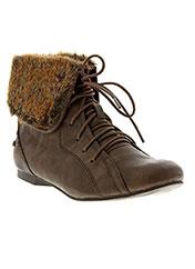 Bottines/Boots marron MUSTANG pour fille seconde vue