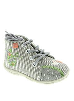 Chaussons/Pantoufles gris GBB pour fille
