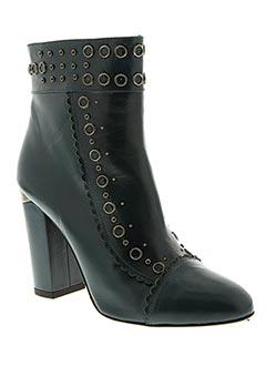 Bottines/Boots bleu PURA LOPEZ pour femme