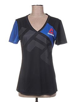 T-shirt manches courtes bleu REEBOK pour femme
