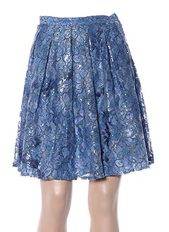Jupe courte bleu GUESS BY MARCIANO pour femme