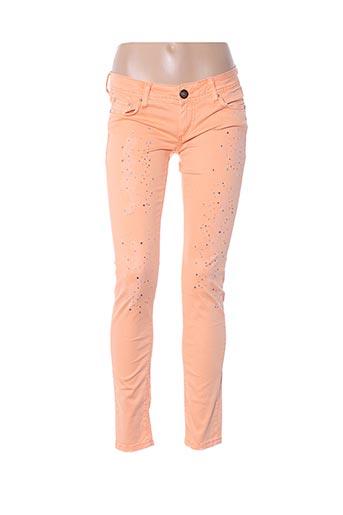 Pantalon casual orange CIPO & BAXX pour femme