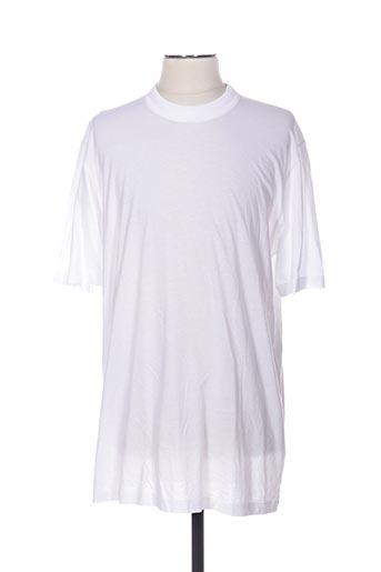 T-shirt manches courtes blanc CERRUTI 1881 pour homme