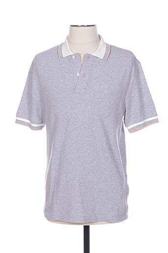 Polo manches courtes gris CERRUTI 1881 pour homme