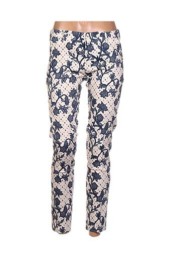 Pantalon 7/8 beige BO'AIME pour femme