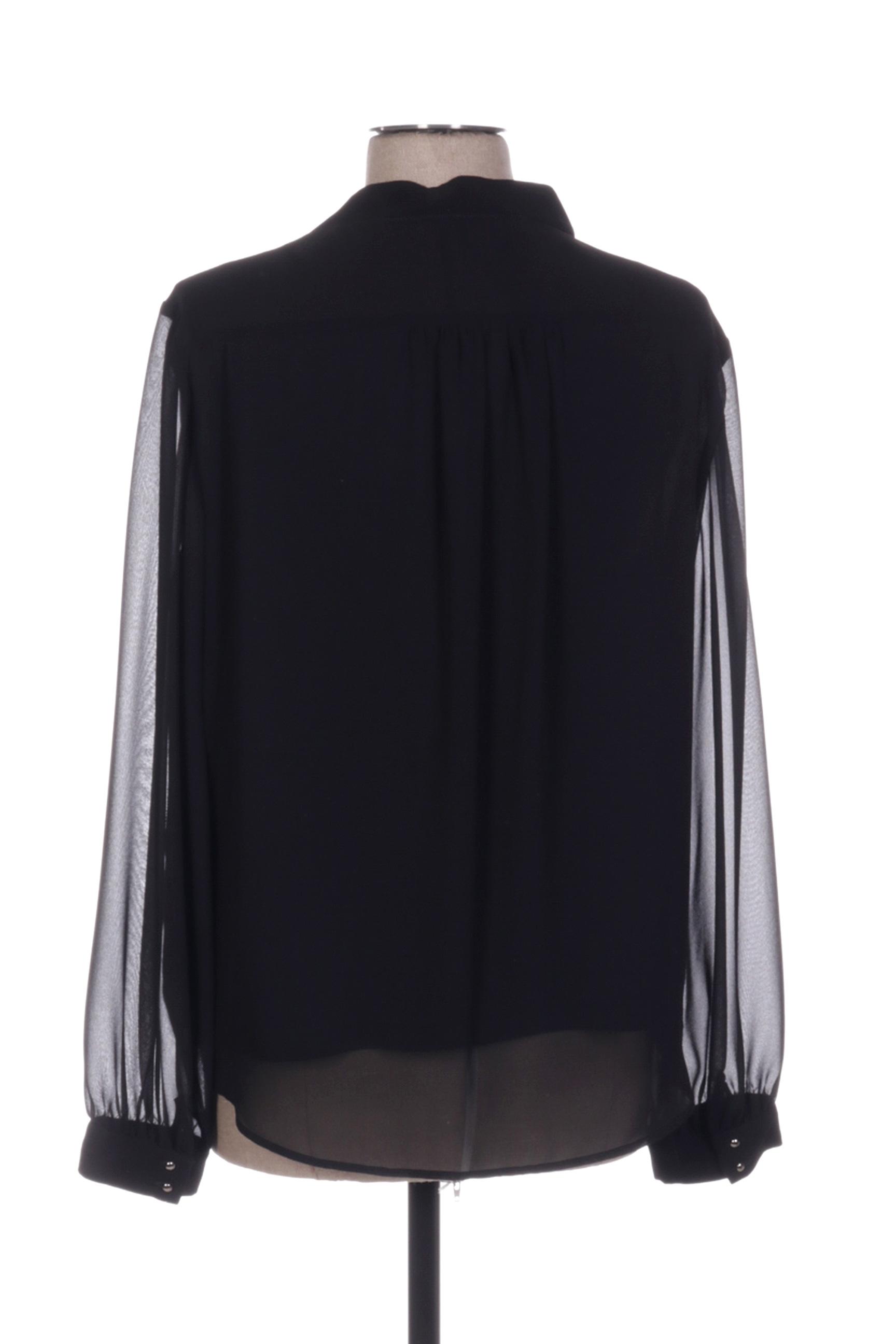Vera Mont Blouses Femme De Couleur Noir En Soldes Pas Cher 1393881-noir00