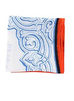 Foulard bleu TRICOT CHIC pour femme
