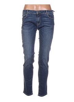 Jeans coupe slim bleu HOD pour femme