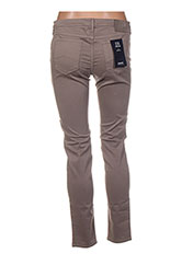 Pantalon casual marron ARMANI pour femme seconde vue