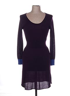 Robe pull violet PAUL SMITH pour femme