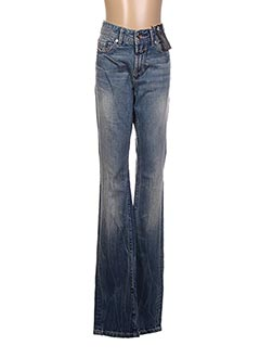 Jeans coupe droite bleu CLOSED pour femme