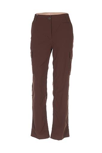 Pantalon casual marron AIGLE pour homme