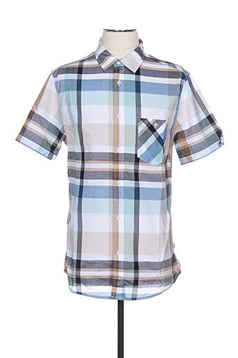 Chemise manches courtes bleu AIGLE pour homme