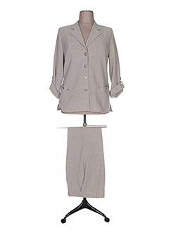 Veste/pantalon vert FRANCE RIVOIRE pour femme