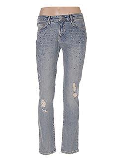 Jeans coupe slim bleu LE PETIT BAIGNEUR pour femme