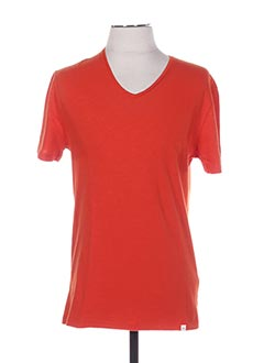 T-shirt manches courtes orange HARRIS WILSON pour homme