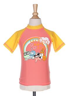 Haut de maillot de bain rose ARENA pour fille