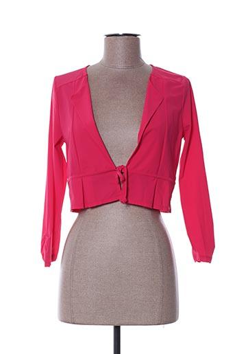 Veste chic / Blazer rose MALOKA pour femme