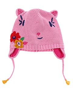 Bonnet rose CATIMINI pour fille