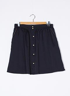 Jupe courte bleu GRACE & MILA pour femme