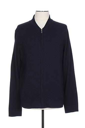 Veste casual bleu MARVELIS pour homme