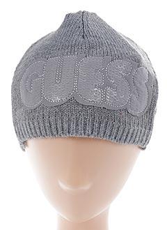 Bonnet gris GUESS pour enfant