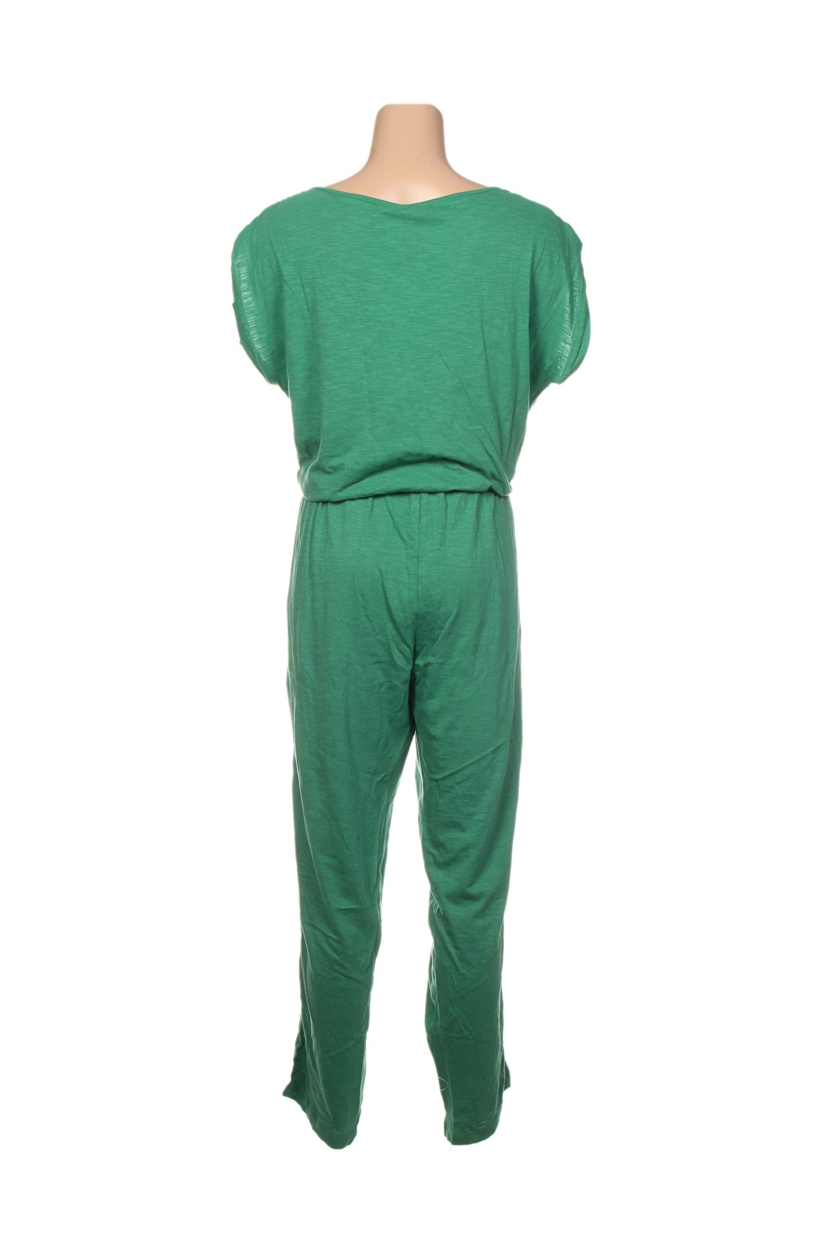 Tranquillo Combinaisons 1 Femme De Couleur Vert En Soldes Pas Cher 1388436-vert00