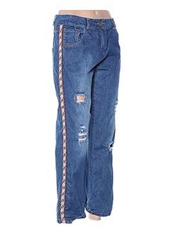 Jeans coupe large bleu MOTEL pour femme