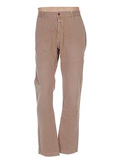 Pantalon casual beige CLOSED pour homme