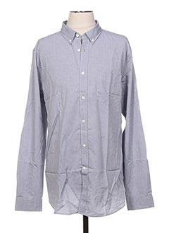 Chemise manches longues gris CLOSED pour homme