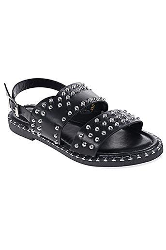 Sandales/Nu pieds noir BO'AIME pour femme