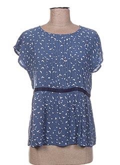 Blouse manches courtes bleu ESPADRILLES pour fille