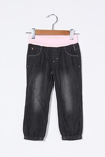 Pantalon casual noir ESPRIT pour fille