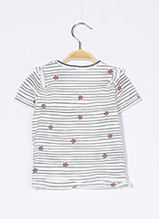 T-shirt manches courtes blanc ESPRIT pour fille seconde vue