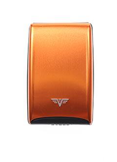 Porte-carte orange TRU VIRTU pour homme